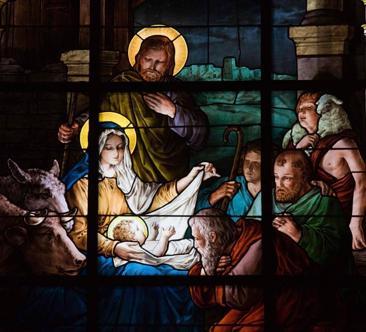 Reflections of the Manger