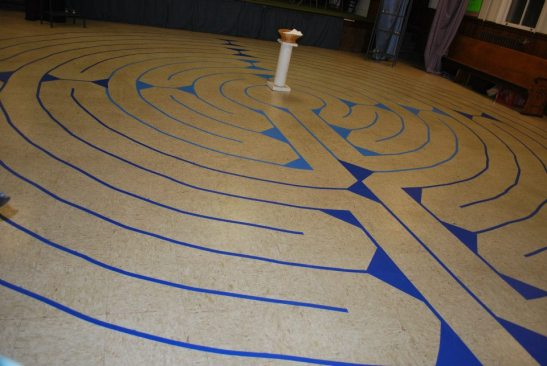 labyrinth at Salem