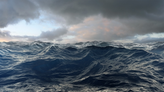 Gerhard-Mantz.-Rough-Seas.-Persönliches-Wagnis-Tinte-auf-Leinwand-140-x-270-cm-2009
